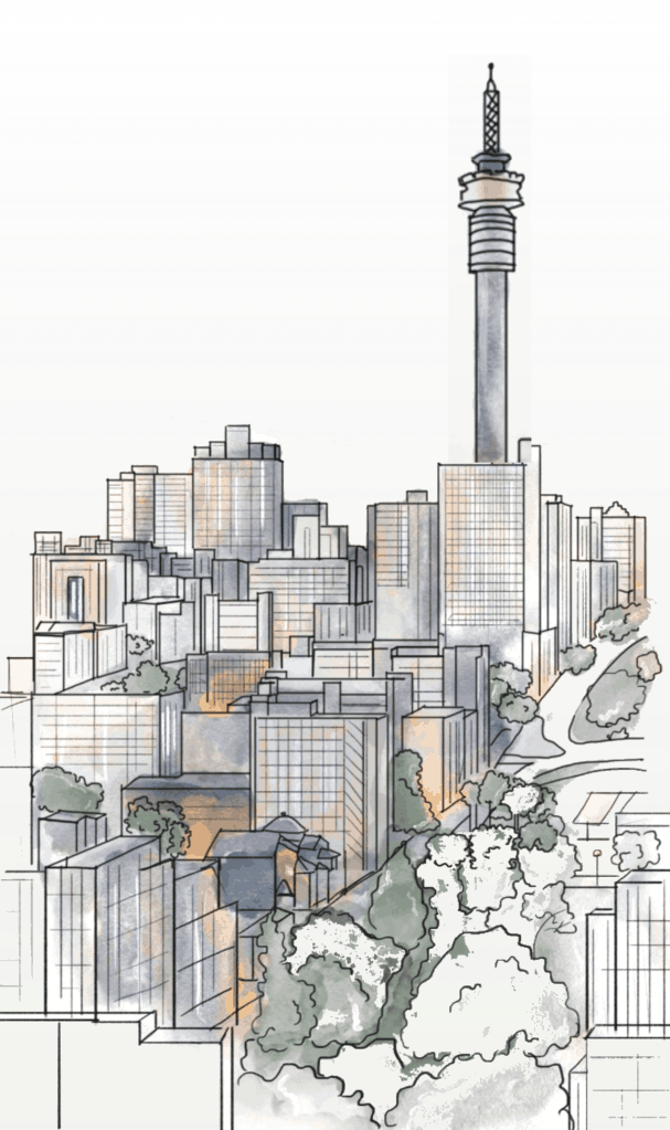 Johannesburg Illustration